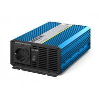 Инвертор автомобильный - преобразователь напряжения 12В-220В 600Вт Pitatel KV-P600.12 чистый синус
