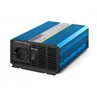 Инвертор автомобильный - преобразователь напряжения 24В-220В 600Вт Pitatel KV-P600.24 чистый синус