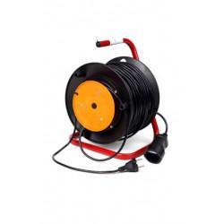 Переноска-удлинитель на катушке КРОНА КС123040 РС-1 на 40 метров 1 розетку 1,3 кВт 6А