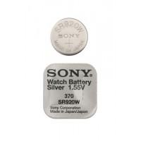 Батарейка Sony SR920W (370) 1,55В дисковая 1шт