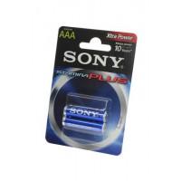 Батарейка Sony Stamina Plus AAA 1,5В 2шт