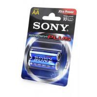 Батарейка Sony Stamina Plus AA 1,5В 2шт