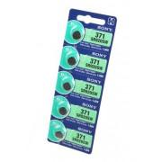 Батарейка Sony SR920SW (371) 1,55В дисковая 5шт