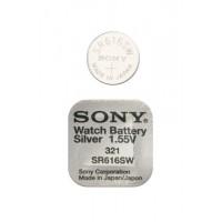 Батарейка Sony SR616SW (321) 1,55В дисковая 1шт
