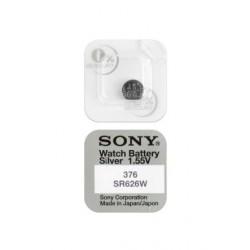 Батарейка Sony SR626W (376) 1,55В дисковая 1шт