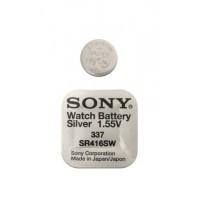 Батарейка Sony SR416SW (337) 1,55В дисковая 1шт