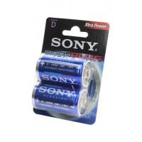 Батарейка Sony Stamina Plus D 1,5В 2шт