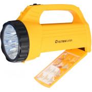 Фонарь ручной светодиодный c кислотным аккумулятором 12860 Ultraflash Accu Profi LED3819CSM