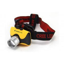 Фонарь налобный светодиодный аккумуляторный IPХ4 12351 Ultraflash E157 Headlite