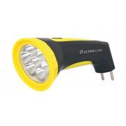 Фонарь ручной светодиодный с кислотным аккумулятором 12868 Ultraflash Accu Profi LED3807M