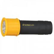 Фонарь карманный светодиодный IP44 10480 Ultraflash Active LED15001-B