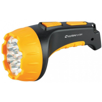 Фонарь ручной светодиодный на 2 кислотных аккумулятора 9217 Ultraflash Accu Profi LED3815