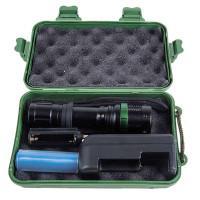 Фонарь карманный светодиодный Cree аккумуляторный 18650 IP66 12187 Ultraflash Accu Profi E142