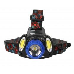 Фонарь налобный светодиодный аккумуляторный IP20 13904 Ultraflash E1334 Headlite