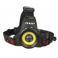 Фонарь налобный светодиодный аккумуляторный IP20 13905 Ultraflash E1335 Headlite