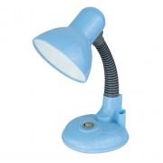 Настольный ламповый светильник 12992 Ultraflash UF-315 голубой 220В 40Вт Е27
