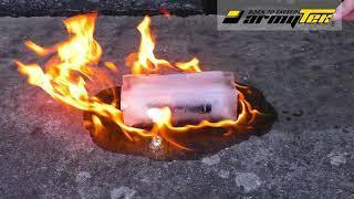 Испытали Armytek Wizard огнем, водой, льдом и даже переехали автомобилем