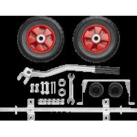 Набор колес + рукоятка для генераторов мощностью до 3500 Вт ЗУБР ЗЭСБ-РК-1