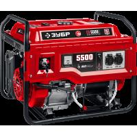 Бензиновый генератор с электростартером ЗУБР 5500 Вт СБ-5500Е