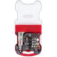 ЗУБР 130Вт 8000-35000 об/мин, 242 шт., гравер электрический с набором мини-насадок ЗГ-130ЭК H242