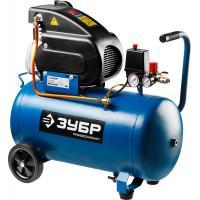 Маслянный компрессор ЗУБР Профессионал 240 л/мин 50 л ЗКПМ-240-50-1.5