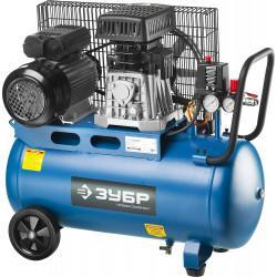 Ременной компрессор ЗУБР Профессионал 360 л/мин 50 л ЗКПМ-360-50-Р-2.2