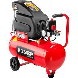 Маслянный компрессор ЗУБР набор аксессуаров 220 л/мин 24 л ЗКПМ-220-24-Н5