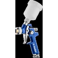 Пневматический краскопульт с верхним бачком ЗУБР Профессионал ПРО 150 мини 08 мм 06454-0.8