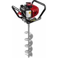 Мотобур (бензобур) ЗУБР ⌀60-200 мм 52 см3 МБ1-200