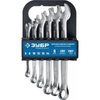 Набор комбинированных гаечных ключей ЗУБР Профессионал 6 шт 6 - 14 мм 27088-H6