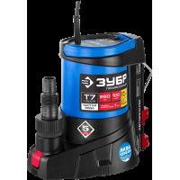 Дренажный насос АкваСенсор 250 Вт с мин. уровнем откачки до 1 мм ЗУБР Профессионал НПЧ-Т7-250