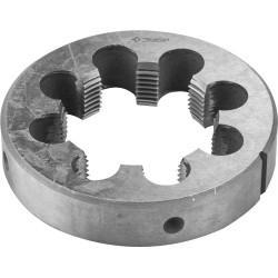 """ЗУБР G 3/4"""", плашка трубная, сталь 9ХС, круглая ручная, 4-28032-3/4"""
