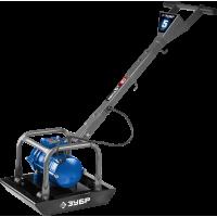 Электрическая виброплита ЗУБР Профессионал 550 Вт 40 кг упл. 200 мм ЗВПЭ-5 Г