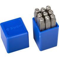 Штамповочные цифровые клейма ЗУБР Профессионал 5 мм 21501-05
