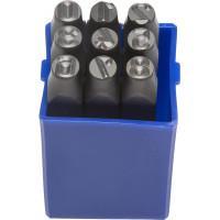 Штамповочные цифровые клейма ЗУБР Профессионал 8 мм 21501-08