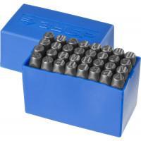 Штамповочные буквенные клейма кириллица ЗУБР Профессионал 8 мм 21503-08